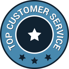 Top customer service medal