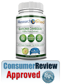 An image of Research Verified's Garcinia Cambogia Bottle